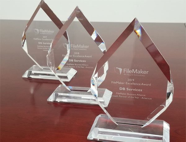 DB Services Named FileMaker Partner of the Year