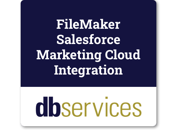 FileMaker Salesforce Marketing Cloud Integration