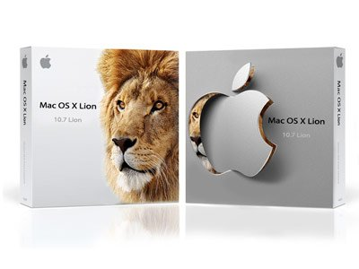 Image of Mac OS X Lion boxes