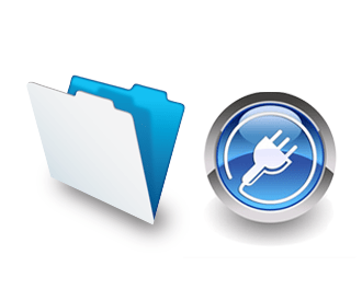 FileMaker folder icon and plug-in icon