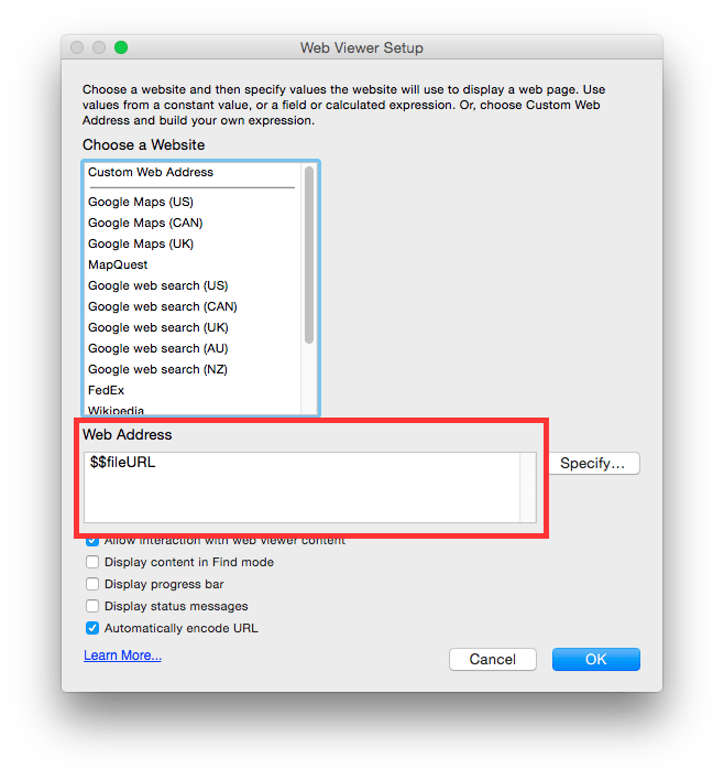 Interactive PDFs in FileMaker Go | DB Services
