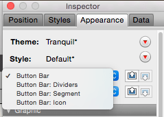 FileMaker Different Object Appearances