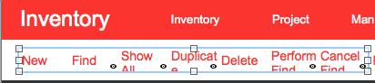FileMaker Function Bar Layout Mode