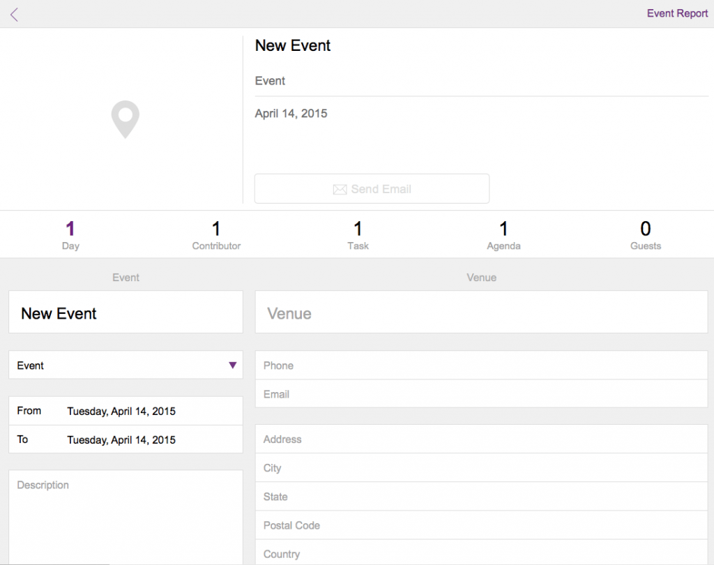 FileMaker 14 Event Management Starter Solution