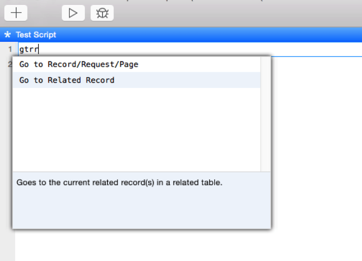 FileMaker Go To Related Record