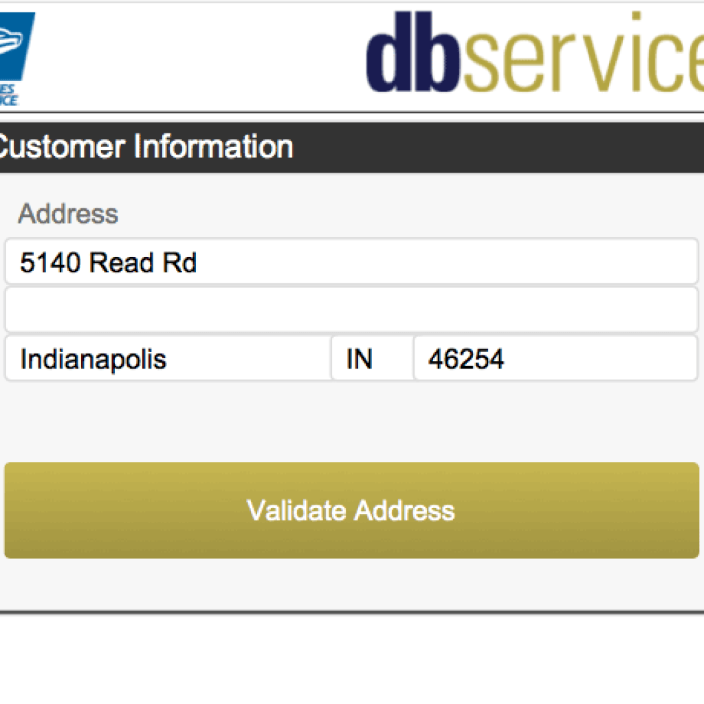 Integrate FileMaker USPS Address Validation | DB Services