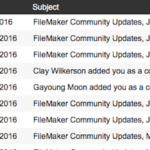 FileMaker Archive Email Feature Image