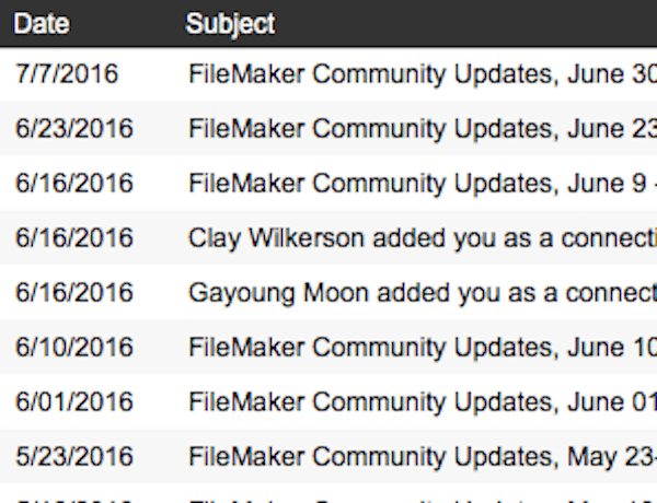 Archiving Email In FileMaker