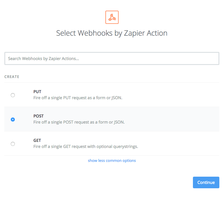 FileMaker Choose POST