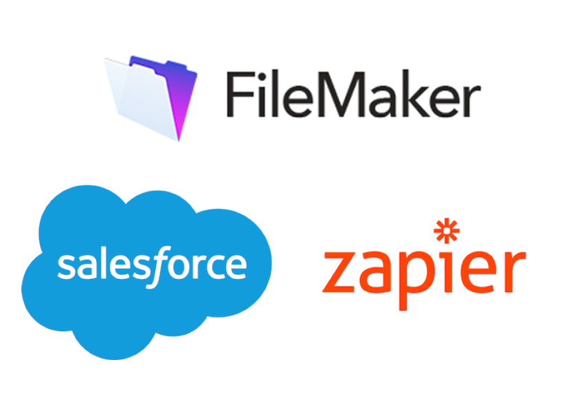 Filemaker Zapier Salesforce Combo