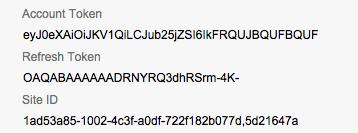 filemaker oauth2 token siteID
