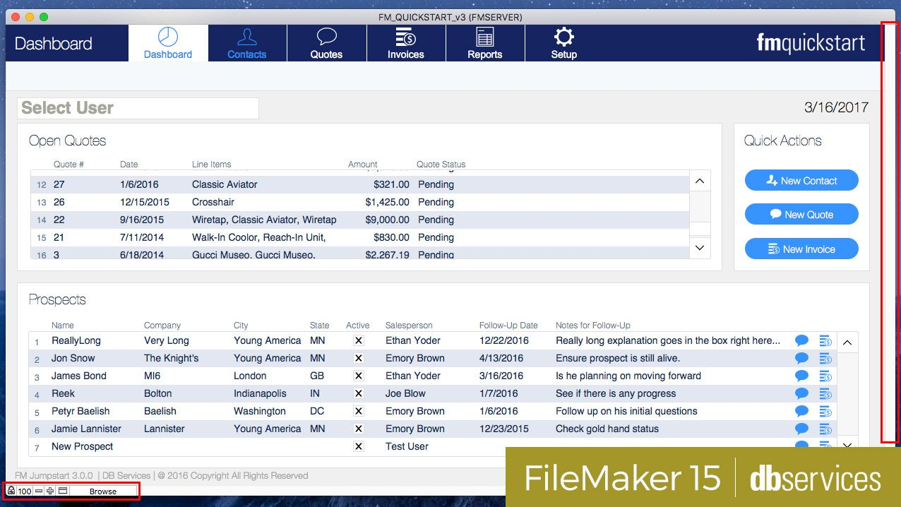 how to create a database in filemaker pro