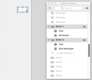 FileMaker Layout Objects Window Hide Others