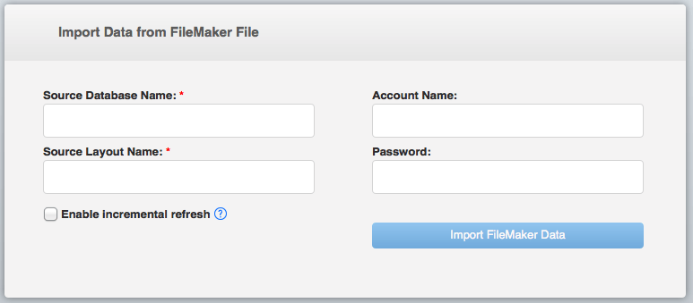 FileMaker Tableau Data Connector