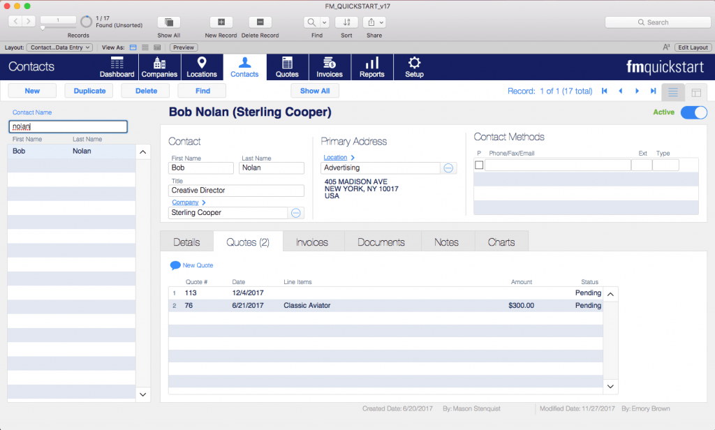 filemaker current found set portal master detail