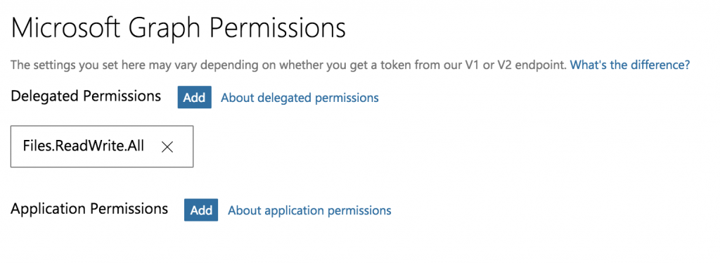 Microsoft OneDrive Permissions For FileMaker Integration
