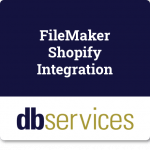 db services filemaker shopify integration