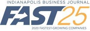 Indianapolis IBJ Fast 25 Logo