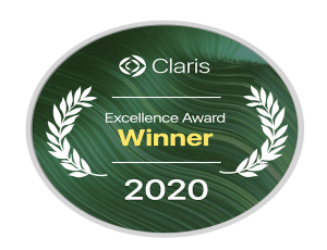 claris 2020 excellence badge